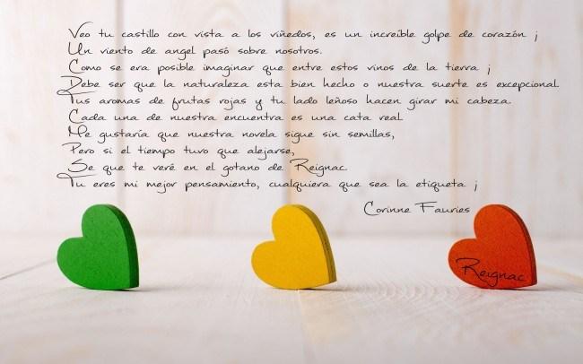 Le lettre de Corinne en espagnol
